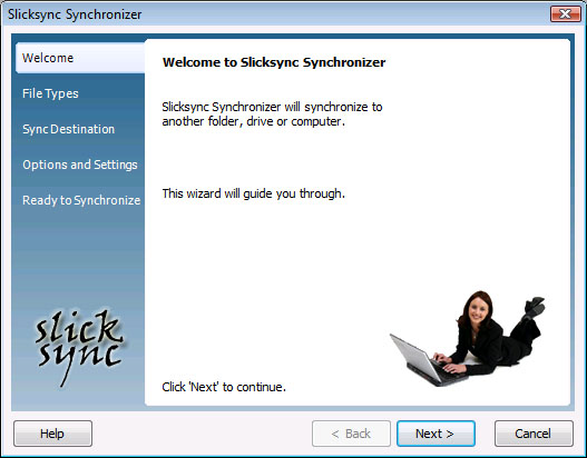 Slicksync Office Synchronizer Basic 1.1